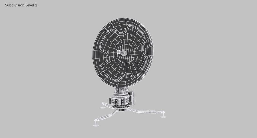 Antena de comunicação móvel royalty-free 3d model - Preview no. 17