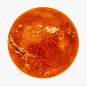 太阳 3d model