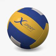 排球 3d model