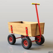 ワゴン 3d model