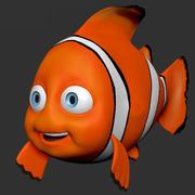 Clown Fish 3d model