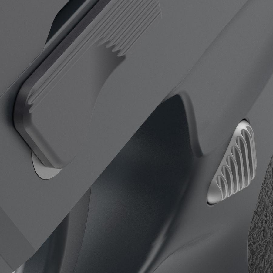 Pistola royalty-free modelo 3d - Preview no. 8