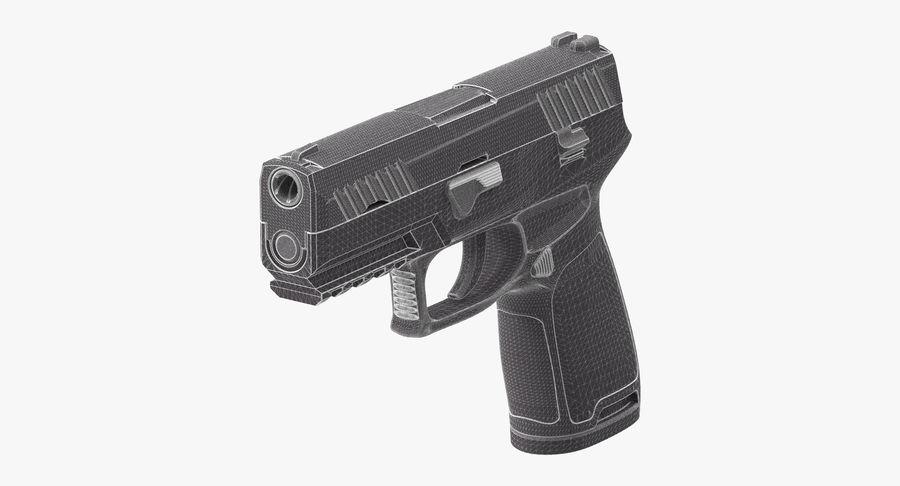 Pistola royalty-free modelo 3d - Preview no. 12