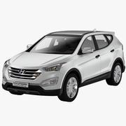 Hyundai SantaFe 2013-2016 3d model
