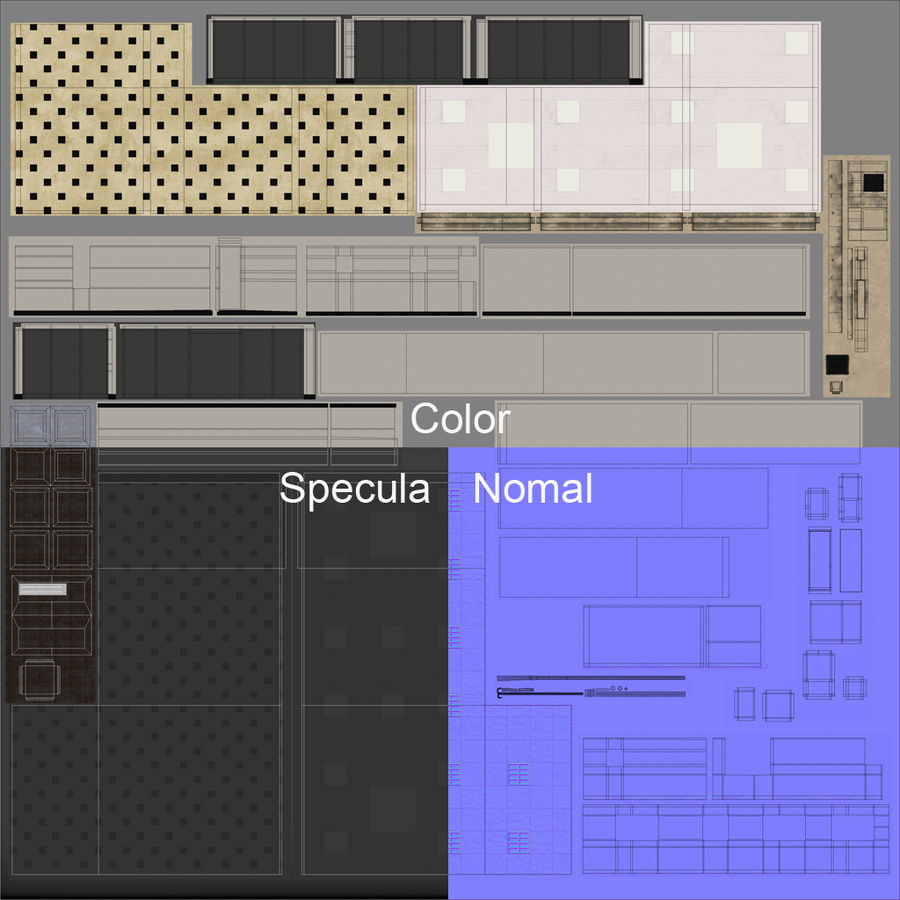 City Building royalty-free 3d model - Preview no. 26