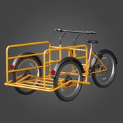 Triciclo Titan Cargo Bike 3d model