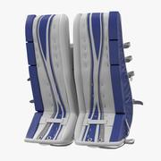 Hockey Goalie Leg Pads Generic 3D Model 3d model