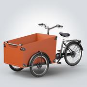 Babboe Cargo Bike 3d model