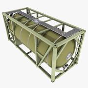 燃料ISOタンクコンテナ 3d model