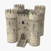 城堡要塞 3d model