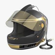 纳斯卡头盔 3d model
