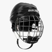 Ice Hockey Helmet 3D Model 3d model
