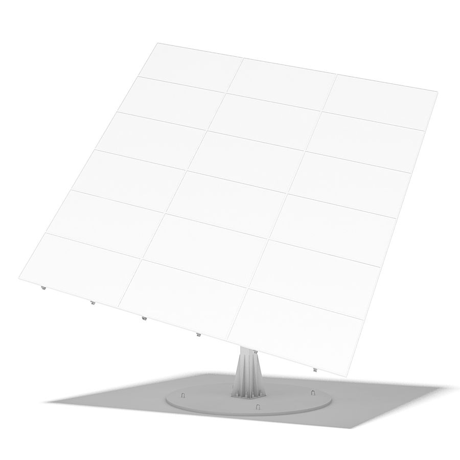 Solar Panels 05 royalty-free 3d model - Preview no. 11