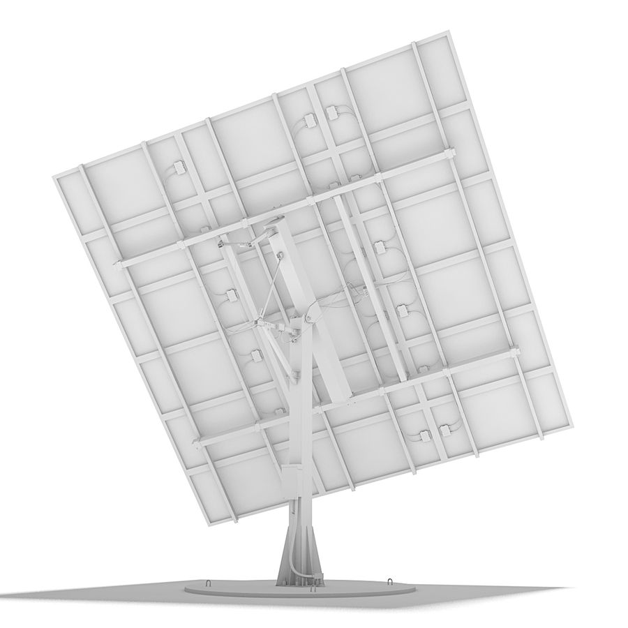 Solar Panels 05 royalty-free 3d model - Preview no. 12