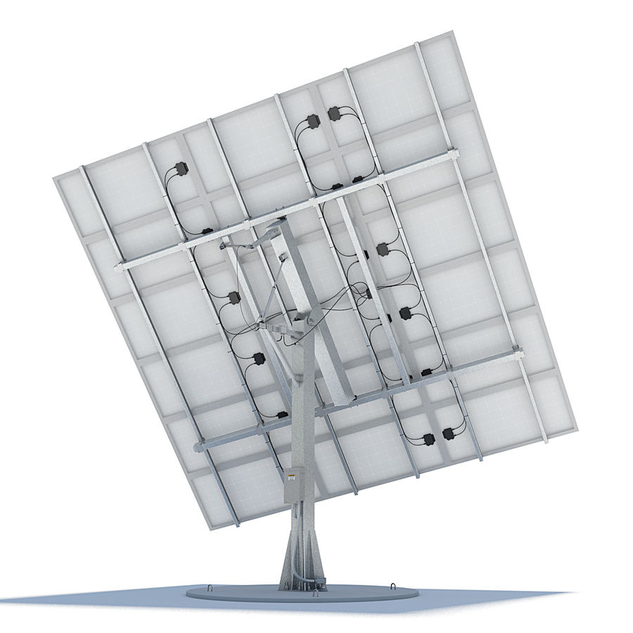 Solar Panels 05 royalty-free 3d model - Preview no. 2
