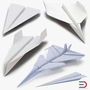 Kolekcja samolotów papierowych 2 3d model