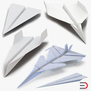 Paper Planes Collection 2 3d model
