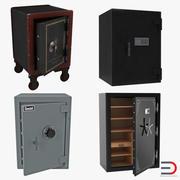 Safes 3D Models Collection 3d model