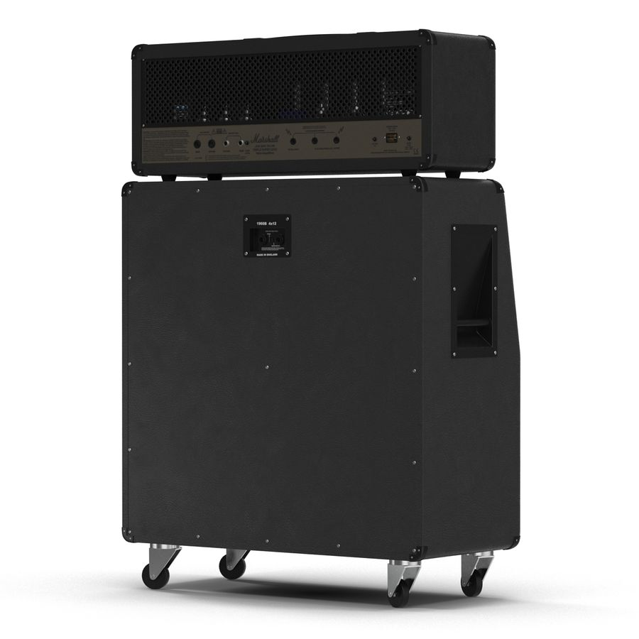 Guitar Amplifiers Collection royalty-free 3d model - Preview no. 16