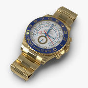 Rolex Yachtmaster II Oyster Gold 3D Model 3d model