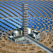 Solar Power Plant 3d model