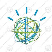 IBM Watson Logo Animation 3d model