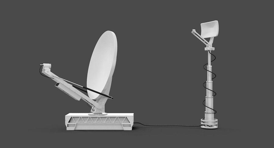 TV 안테나 방송 royalty-free 3d model - Preview no. 5