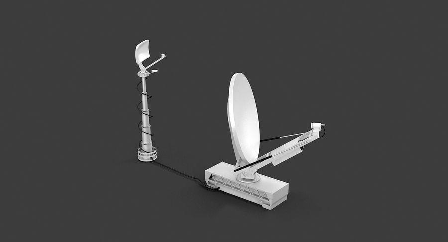 TV 안테나 방송 royalty-free 3d model - Preview no. 10