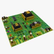 Nuovo circuito 3d model