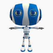 Cartoon Robot 3d model