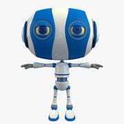 卡通机器人 3d model