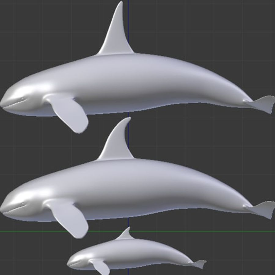 Killerwal-Pack royalty-free 3d model - Preview no. 10