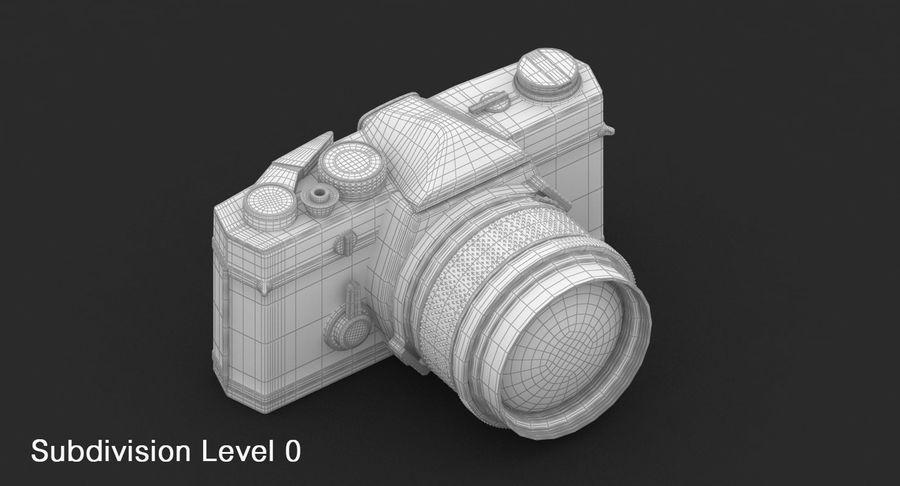 Vecchia macchina fotografica royalty-free 3d model - Preview no. 21