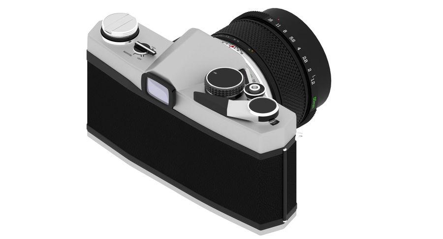 Vecchia macchina fotografica royalty-free 3d model - Preview no. 10