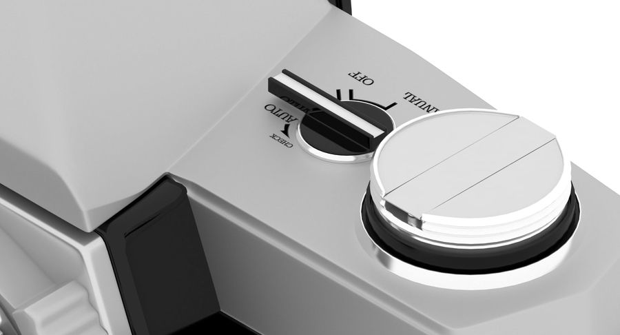 Vecchia macchina fotografica royalty-free 3d model - Preview no. 12