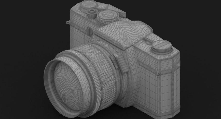 Vecchia macchina fotografica royalty-free 3d model - Preview no. 27