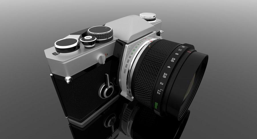 Vecchia macchina fotografica royalty-free 3d model - Preview no. 18