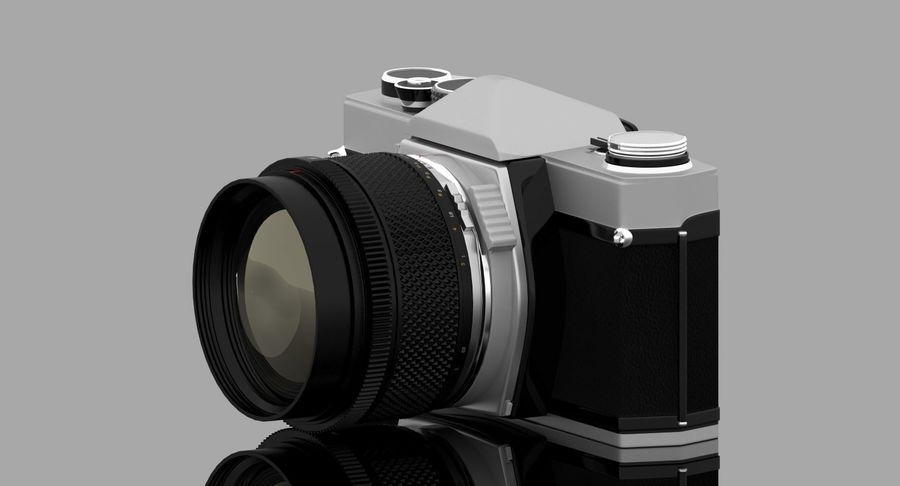 Vecchia macchina fotografica royalty-free 3d model - Preview no. 17