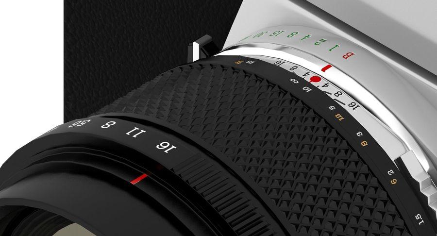 Vecchia macchina fotografica royalty-free 3d model - Preview no. 13