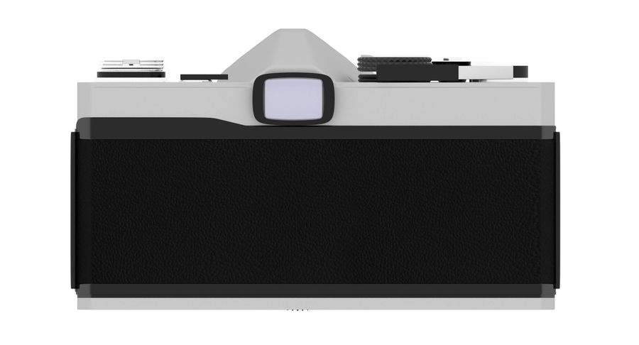 Vecchia macchina fotografica royalty-free 3d model - Preview no. 7