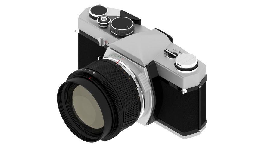 Vecchia macchina fotografica royalty-free 3d model - Preview no. 11