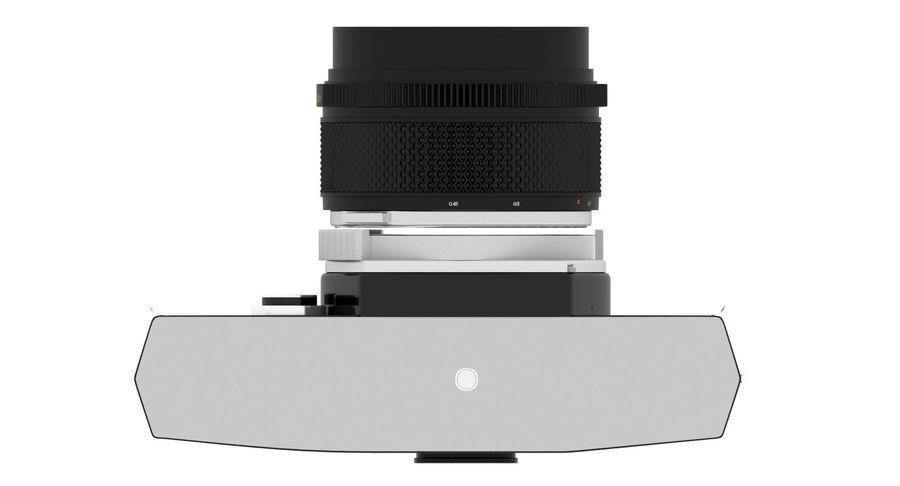 Vecchia macchina fotografica royalty-free 3d model - Preview no. 9