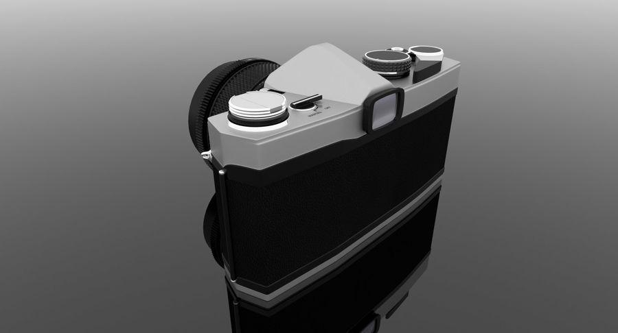 Vecchia macchina fotografica royalty-free 3d model - Preview no. 20