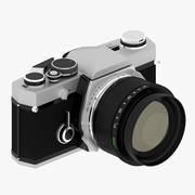 Vecchia macchina fotografica 3d model