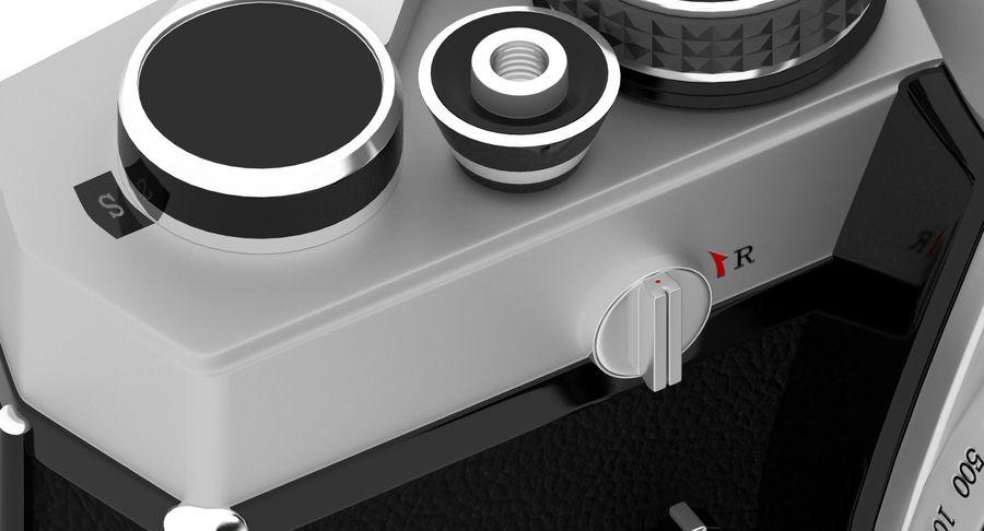 Vecchia macchina fotografica royalty-free 3d model - Preview no. 14