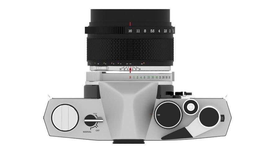 Vecchia macchina fotografica royalty-free 3d model - Preview no. 8