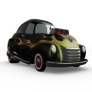 Cartoon Hot Rod 3d model