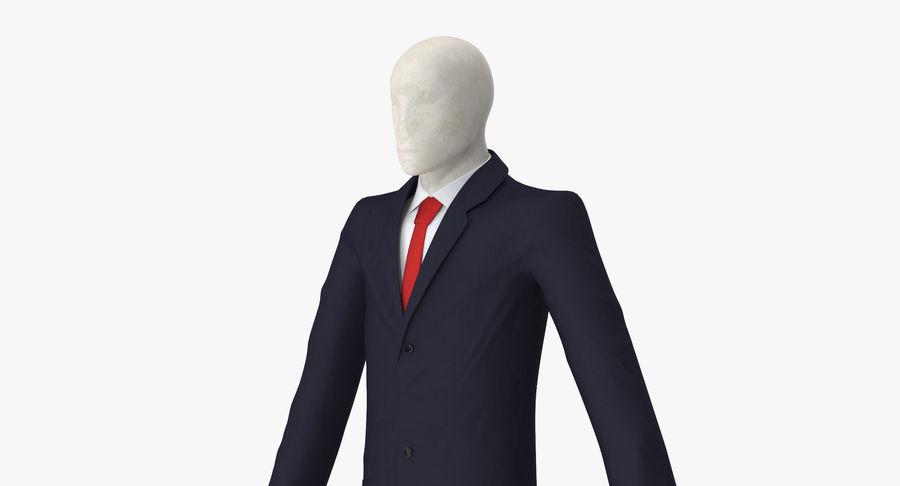 Szczupły mężczyzna royalty-free 3d model - Preview no. 12