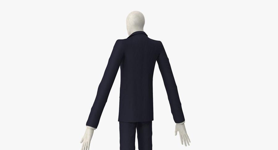 Szczupły mężczyzna royalty-free 3d model - Preview no. 15