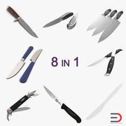 Knives 3D Models Collection 2 3d model
